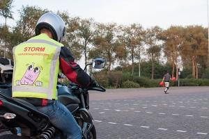 Proefles motorrijden Castricum